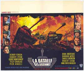 Battle of the Bulge - 11 x 17 Movie Poster - Belgian Style A