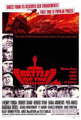 Battle of the Bulge - 27 x 40 Movie Poster - Style A