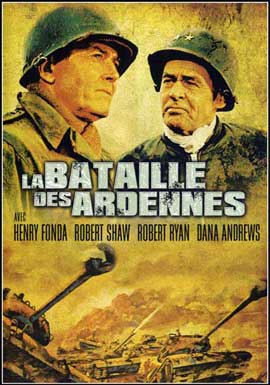 Battle of the Bulge - 11 x 17 Movie Poster - French Style C