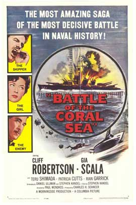 Battle of the Coral Sea - 11 x 17 Movie Poster - Style A