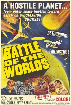 Battle of the Worlds - 27 x 40 Movie Poster - Style A