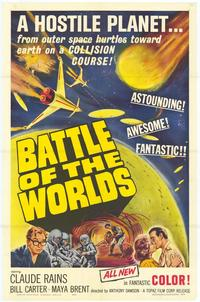 Battle of the Worlds - 43 x 62 Movie Poster - Bus Shelter Style A