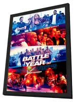 Battle of the Year 3D - 11 x 17 Movie Poster - Style A - in Deluxe Wood Frame