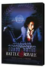 Battle Royale - 27 x 40 Movie Poster - Style A - Museum Wrapped Canvas