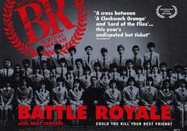 Battle Royale - 11 x 17 Movie Poster - Style A