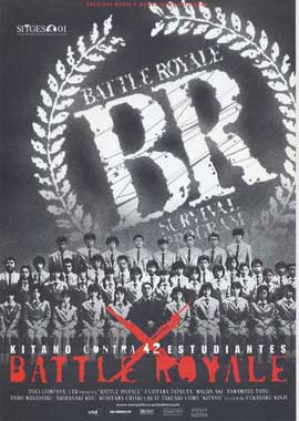 Battle Royale - 11 x 17 Movie Poster - Spanish Style B