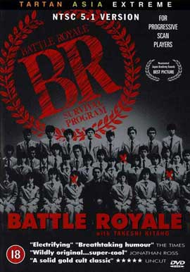 Battle Royale - 27 x 40 Movie Poster - UK Style B