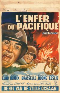 Battle Stations - 27 x 40 Movie Poster - Belgian Style A