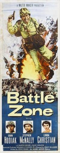 Battle Zone - 14 x 36 Movie Poster - Insert Style A