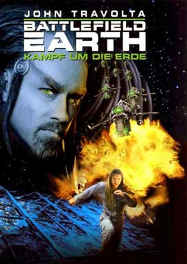 Battlefield Earth - 11 x 17 Movie Poster - German Style A