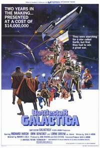 Battlestar Galactica - 27 x 40 Movie Poster - Style B