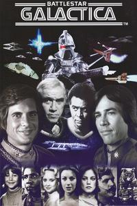 Battlestar Galactica - 24 x 36 TV Poster - Style A