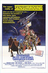 Battlestar Galactica - 43 x 62 Movie Poster - Bus Shelter Style A