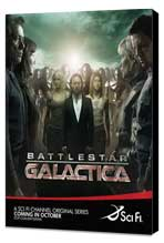 Battlestar Galactica - 27 x 40 TV Poster - Style P - Museum Wrapped Canvas
