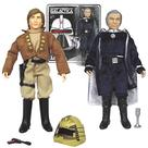Battlestar Galactica - Lt. Starbuck and Cdr. Adama Figures
