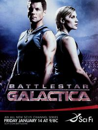 Battlestar Galactica - 11 x 17 TV Poster - Style A
