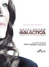 Battlestar Galactica - 11 x 17 TV Poster - Style J
