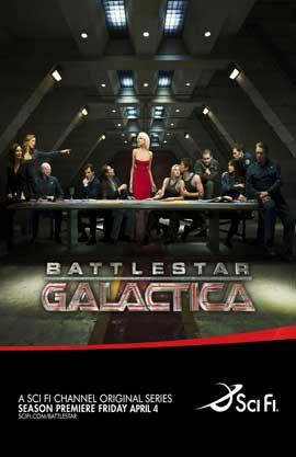 Battlestar Galactica - 11 x 17 TV Poster - Style L