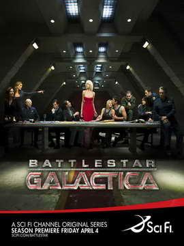 Battlestar Galactica - 30 x 40 TV Poster - Style A