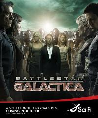 Battlestar Galactica - 27 x 40 TV Poster - Style P