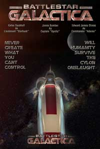 Battlestar Galactica - 11 x 17 TV Poster - Style R