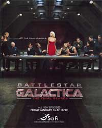 Battlestar Galactica - 11 x 17 TV Poster - Style T