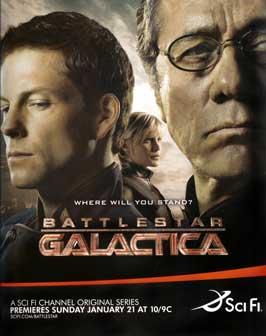 Battlestar Galactica - 27 x 40 TV Poster - Style S