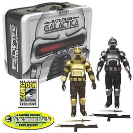 Battlestar Galactica - Cylons w/Tin Tote - SDCC Exclusive