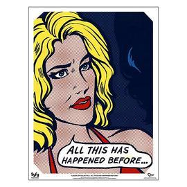 Battlestar Galactica - Ladies Pop Art Six Fine Art Print