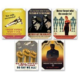 Battlestar Galactica - Propaganda Posters