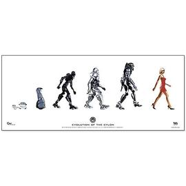 Battlestar Galactica - Evolution of the Cylon Poster