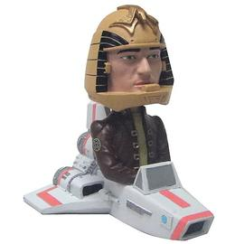 Battlestar Galactica - Colonial Viper with Apollo Bobble Head