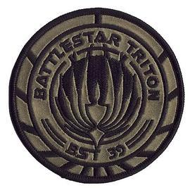 Battlestar Galactica - Triton 39 Premium Ship Patch