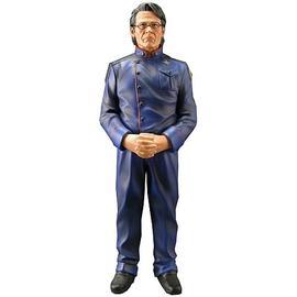 Battlestar Galactica - Admiral Adama Animated Maquette Statue