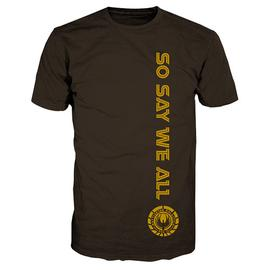 Battlestar Galactica - So Say We All Brown T-Shirt