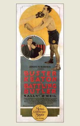 Battling Butler - 11 x 17 Movie Poster - Style A
