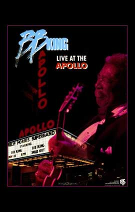 B.B. King Live at the Apollo - 11 x 17 Movie Poster - Style A