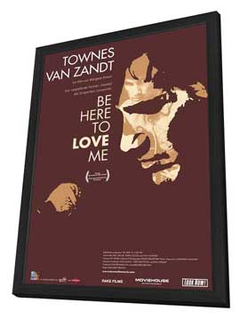 Be Here to Love Me - 11 x 17 Movie Poster - Swiss Style A - in Deluxe Wood Frame