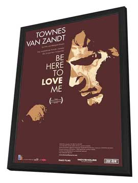 Be Here to Love Me - 27 x 40 Movie Poster - Swiss Style A - in Deluxe Wood Frame