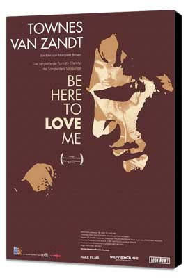 Be Here to Love Me - 11 x 17 Movie Poster - Swiss Style A - Museum Wrapped Canvas