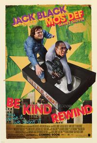 Be Kind Rewind - 43 x 62 Movie Poster - Bus Shelter Style A