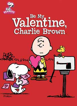 Be My Valentine Charlie Brown - 27 x 40 Movie Poster - Style A