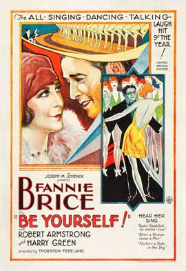 Be Yourself! - 11 x 17 Movie Poster - Style B