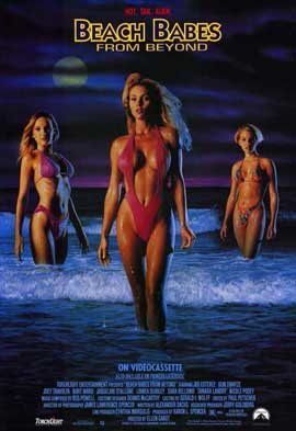 Beach Babes from Beyond - 11 x 17 Movie Poster - Style A