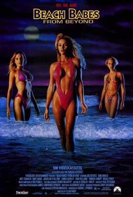 Beach Babes from Beyond - 27 x 40 Movie Poster - Style A