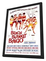 Beach Blanket Bingo - 27 x 40 Movie Poster - Style A - in Deluxe Wood Frame