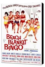 Beach Blanket Bingo - 11 x 17 Movie Poster - Style A - Museum Wrapped Canvas