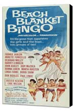 Beach Blanket Bingo - 14 x 36 Movie Poster - Insert Style A - Museum Wrapped Canvas