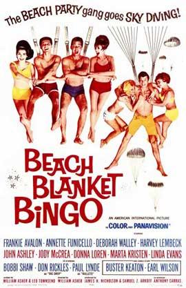 Beach Blanket Bingo - 11 x 17 Movie Poster - Style A