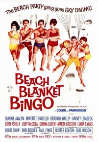 Beach Blanket Bingo - 43 x 62 Movie Poster - Bus Shelter Style A